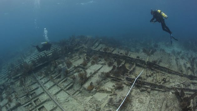 1911 Shipwreck IDed Off Fla. Coast (ABC News)