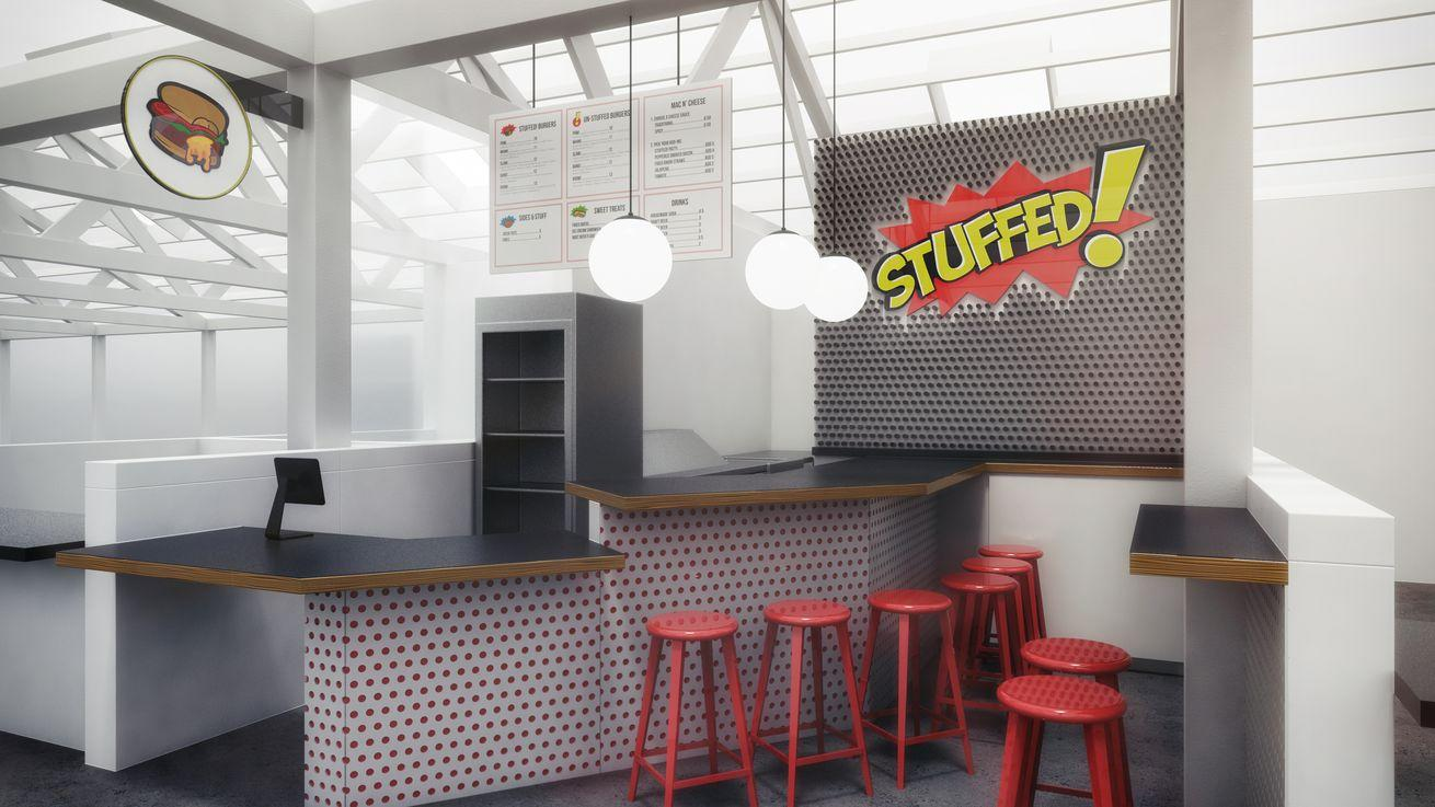 STUFFED! Food Truck Preps First Burger Brick & Mortar