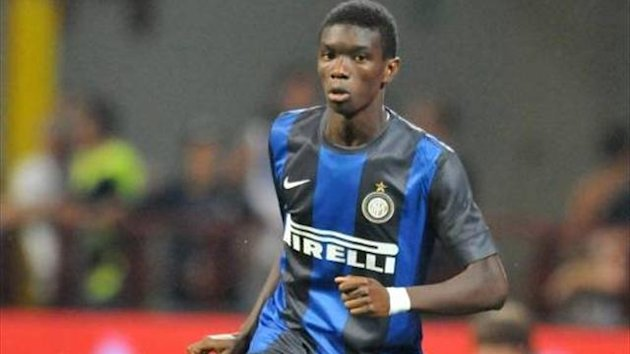 Ibrahima Mbaye of Inter Milan