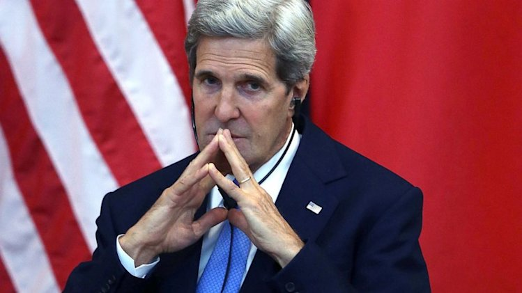 Secretary Kerry Gets Emotional Over Wife's Condition