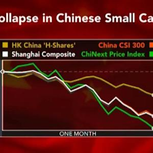Chinese Small Caps Are Biggest Losers in Stock Rout