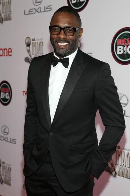 Idris Elba at the 45th NAACP Image Awards at Pasadena Civic Auditorium on February 22, 2014 in Pasadena, Calif. -- Getty Images