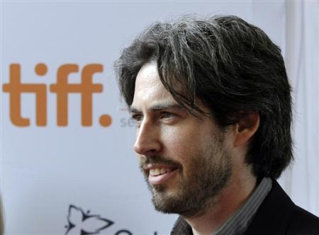 "Director Jason Reitman poses on the red carpet at a live stage reading of the screenplay for ""American Beauty"" at the Toronto International Film Festival"