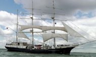 Tall Ship In Thames As Royal Vessels Revealed