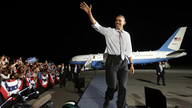 Obama Claims Mantle of 'Change' in 2012 Race