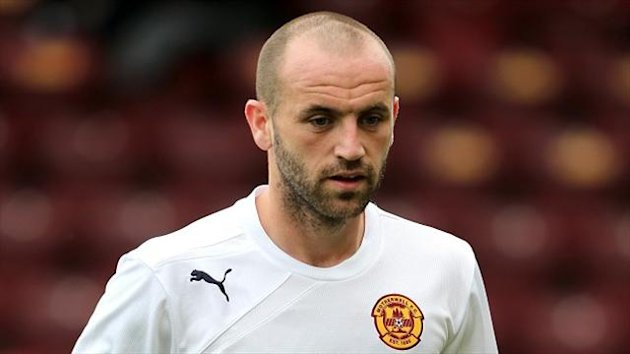 James McFadden will be out to inspire Motherwell to victory against Kuban Krasnodar