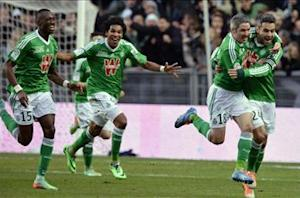 Saint-Etienne 2-0 Monaco: Les Verts dash visitors' title hopes