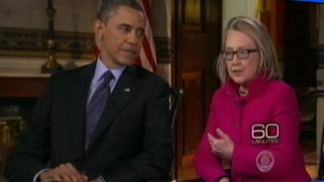 Barack Obama, Hillary Clinton's First Interview Together