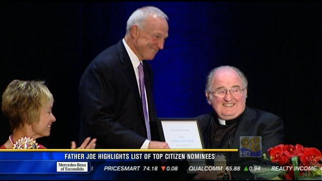 Father Joe highlights list of top 10 citizen award nominees