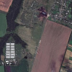 MH17 Plane Crash Site Seen from Space (Photo)