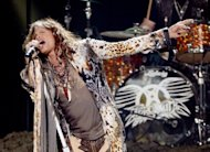 "Aerosmith frontman Steven Tyler, pictured in May 2012, announced Thursday he is leaving ratings-challenged ""American Idol,"" while fellow judge Jennifer Lopez hinted that she could be the next to go"