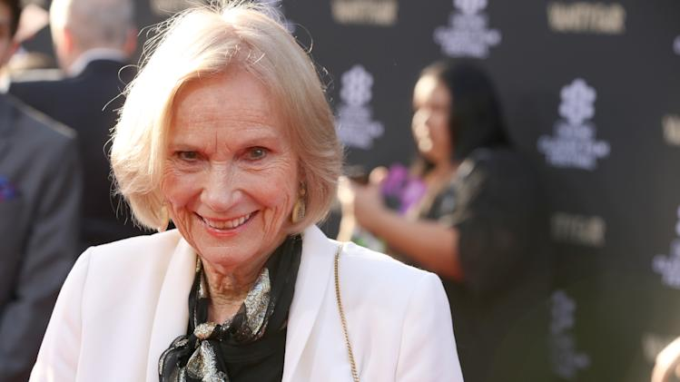 Actress Eva Marie Saint at the 2013 TCM Classic Film Festival's Opening Night Gala at the TCL Chinese Theatre on Thursday, April 25, 2013 in Los Angeles. (Photo by Alexandra Wyman/Invision/AP)