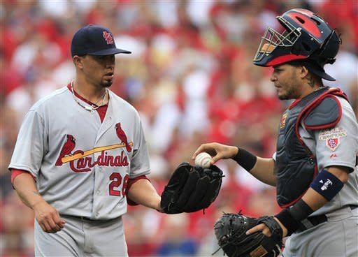 Ludwick's HR sends Reds over Cards 3-2 in 10th