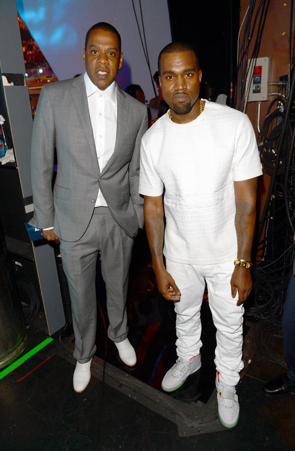 Kanye West Brings Donda Music to Jay Z's Roc Nation