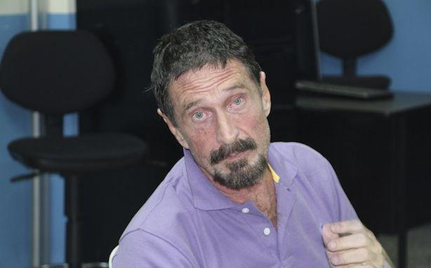 Here Comes the John McAfee Movie