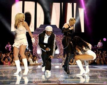 Britney Spears, Missy Elliott, Madonna, Christina Aguilera MTV Video Music Awards - 8/28/2003