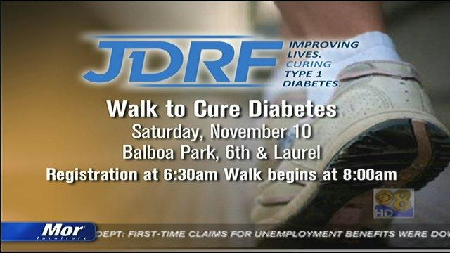 JDRF Walk to Cure Diabetes this Saturday