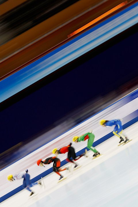 Li Jianrou (L) Of China Competes Getty Images