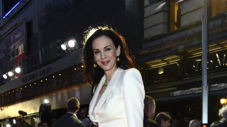 L'Wren Scott poses at London Film Festival American Express Gala The Rolling Stones - Crossfire Hurricane at Odeon West End on Thursday October 18, 2012  in London. (Photo by Jon Furniss/Invision)