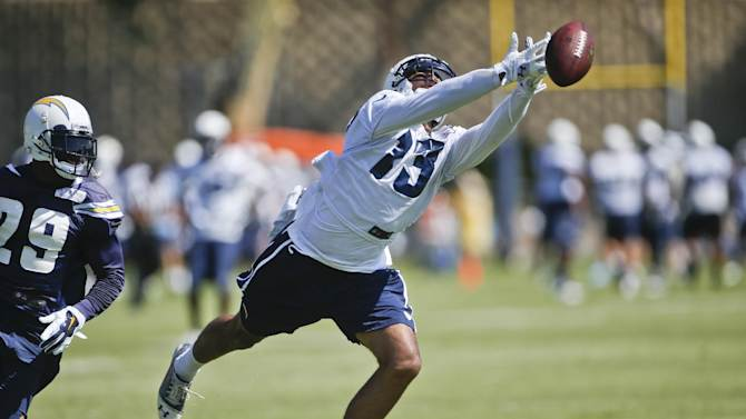 Chargers WR Allen considered quitting as rookie
