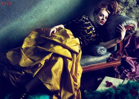 Whoa! See Adele's Gorgeous Vogue Photos