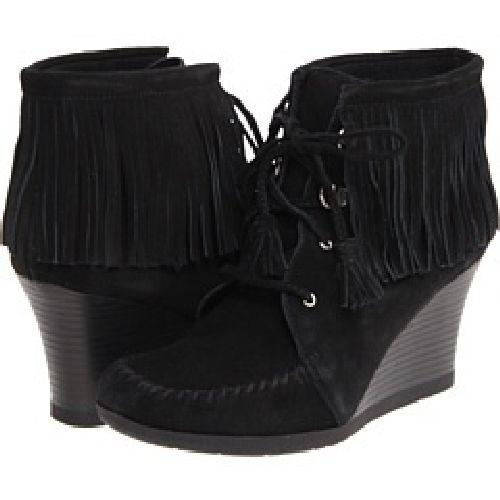 Lace-Up Ankle Wedge