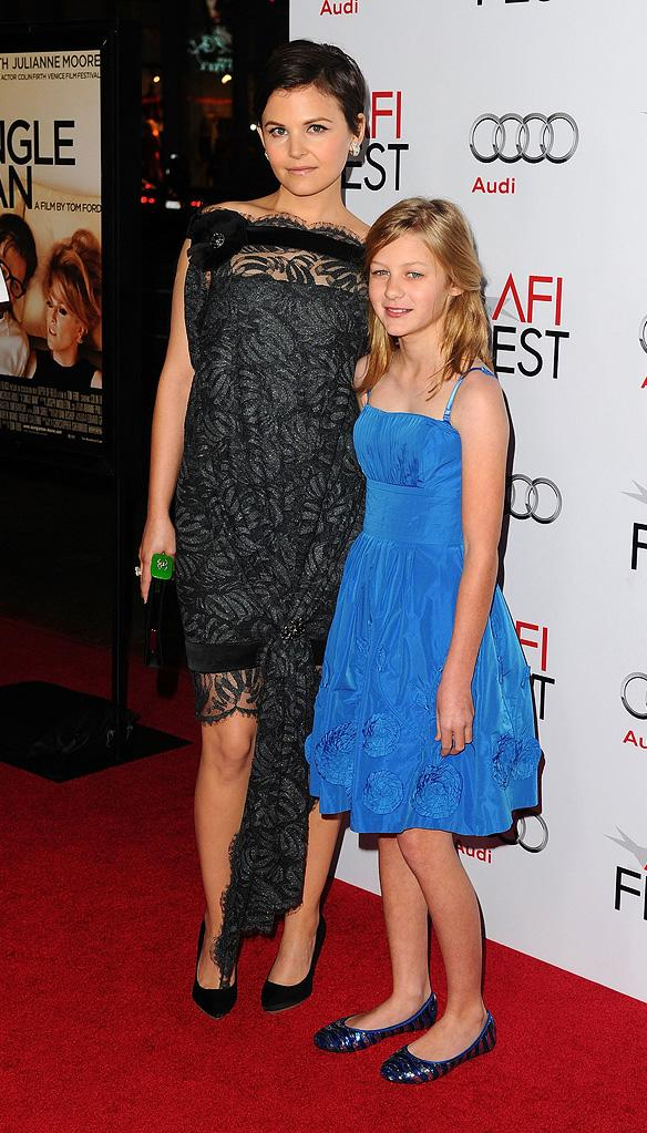 2009 AFI Fest A Single Man Ginnifer Goodwin Ryan Simpkins