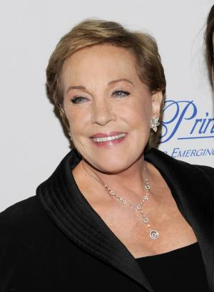"FILE - This Nov. 1, 2011 file photo shows Julie Andrews at the Princess Grace Foundation Awards gala in New York. The Oscar and Tony Award-winning actress said that a botched operation to remove non-cancerous throat nodules in 1997 hasn't gotten better. It has permanently limited her range and her ability to hold notes. ""The operation that I had left me without a voice and without a certain piece of my vocal chords,"" said Andrews, who starred in such quintessential stage and film musicals as ""The Sound of Music,"" ""My Fair Lady"" and ""Mary Poppins."" (AP Photo/Evan Agostini, file)"