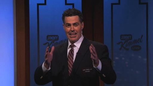 Adam Carolla Does Security for Guillermo