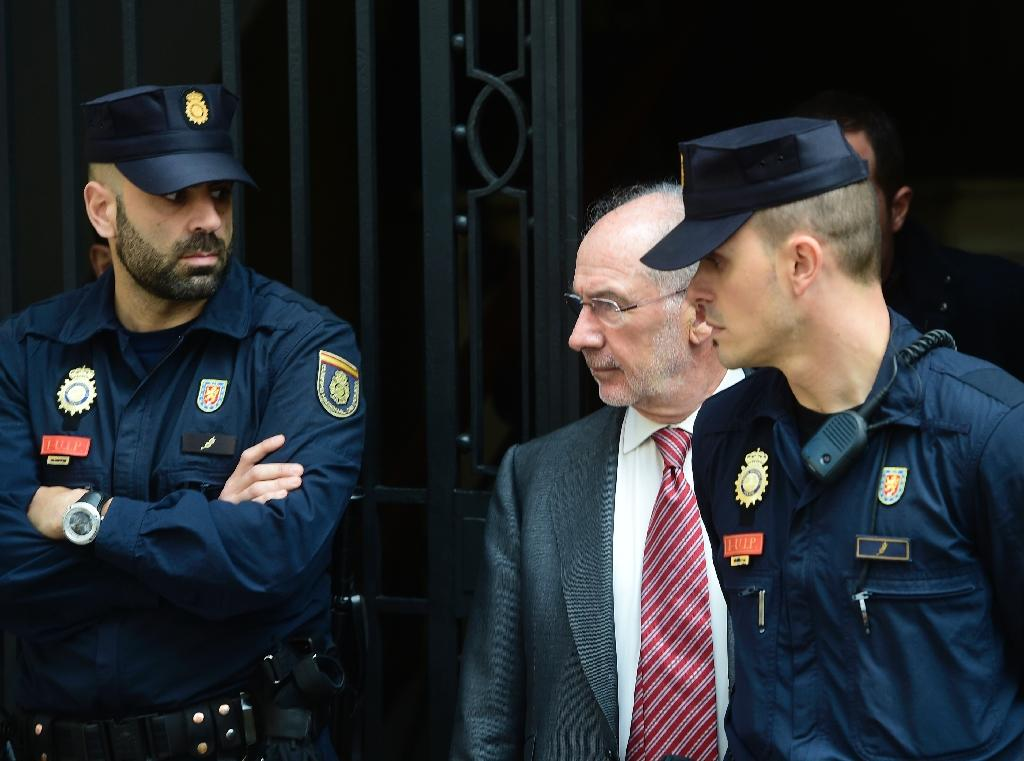 Spanish authorities search ex-IMF chief Rato's office for 2nd day