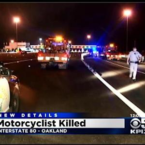 Woman Killed In Hit And Run Motorcycle Accident Near Oakland Bay Bridge Toll Plaza
