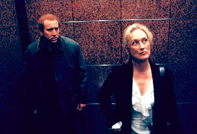 Nicolas Cage and Meryl Streep in Columbia's Adaptation