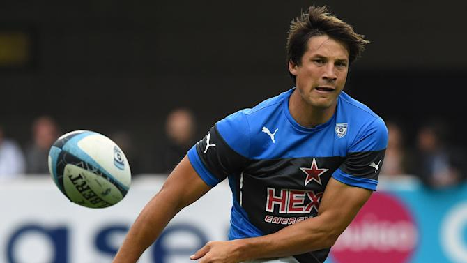 Montpellier's French fly-half Francois Trinh-Duc, pictured on September 12, 2015, will be free in June 2016 to sign with another club