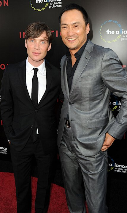 Inception LA premiere 2010 Cillian Murphy Ken Watanabe