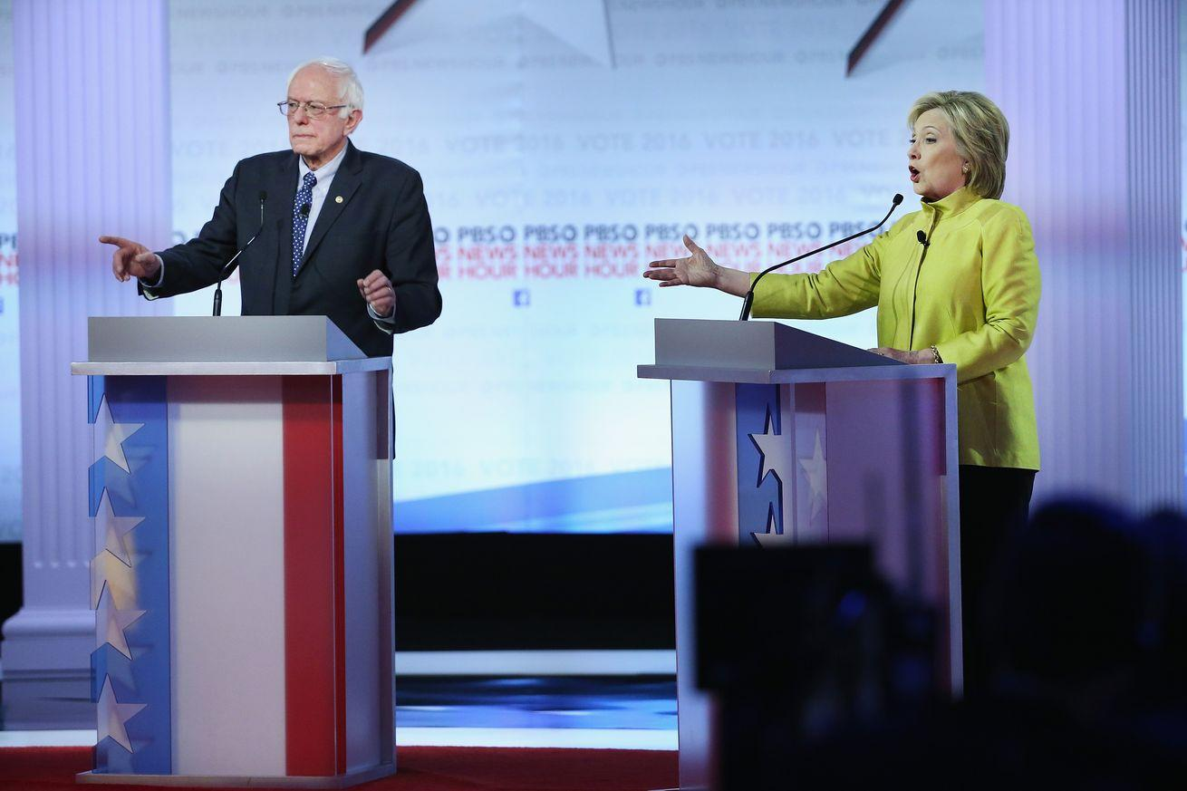 Clinton and Sanders finally had a real foreign policy debate. Here's what we learned.