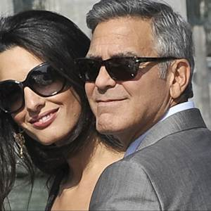 George Clooney's Hollywood Wedding in Venice