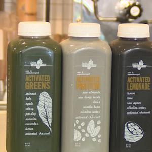 Activated charcoal is latest health trend