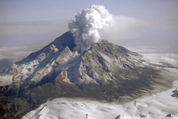 Alaska's Redoubt Volcano 'Screamed' Before Exploding