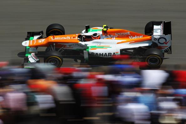 Nico Hulkenberg of Germany and Force India drives during qualifying for the Monaco Formula One Grand Prix at the Circuit de Monaco on May 26, 2012 in Monte Carlo, Monaco. (Photo by Mark Thompson/Getty Images)