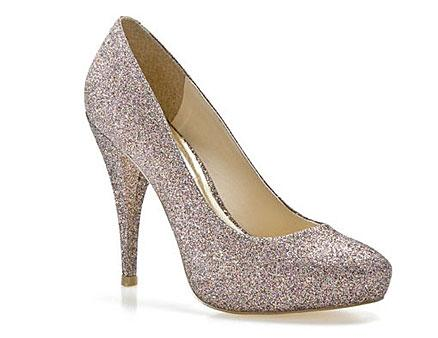 Multi-color Glitter Pumps
