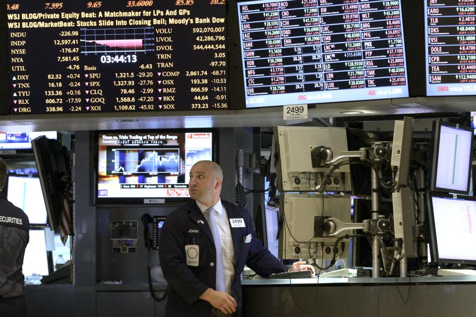 US stocks bounce back; big banks creep higher