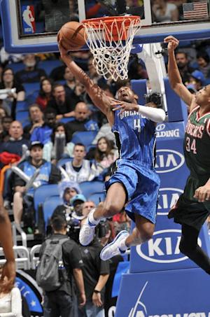 Arron Afflalo scores 21, Magic beat Bucks 113-102