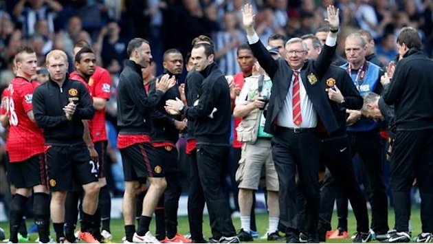 Premier League - Ferguson bows out on a high of sorts
