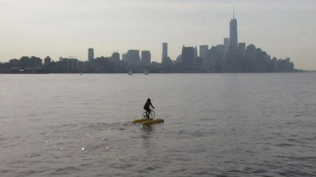 One man's mission to inspire water biking