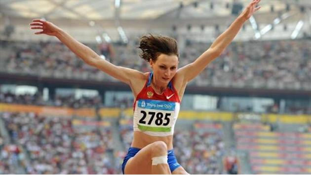 Athletics - Long jumper suspended for doping in 2005