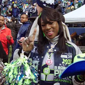 NFL Rush: Momma Sherman pumps up the 12's