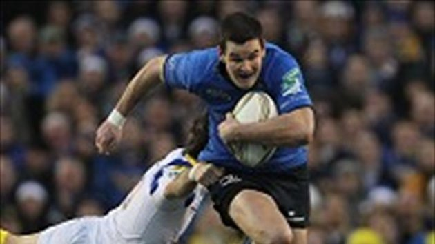 Jonathan Sexton, right, helped Leinster win three European titles in four seasons