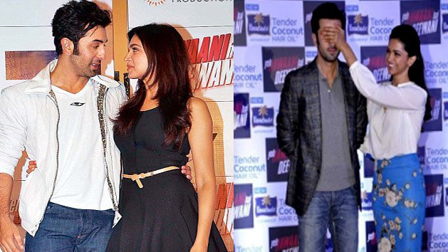 Caught on cam: Ranbir singing for Deepika