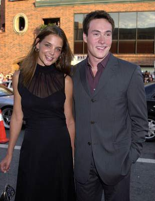 Katie Holmes and Chris Klein at the Westwood premiere of Universal's American Pie 2