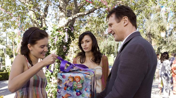 Maggie Grace Famke Janssen Liam Neeson Taken Production Stills 20th Century Fox 2009
